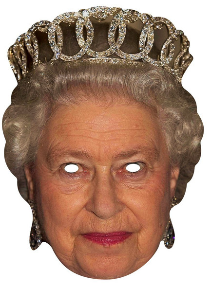Queen Elizabeth Royal Single Card Mask