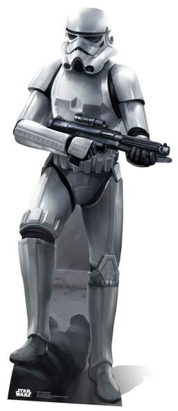 Stormtrooper Battle Pose Lifesize Cardboard Cutout