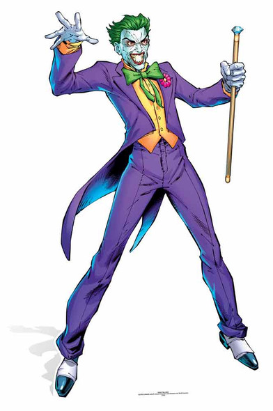 The Joker DC Comics Cardboard Cutout