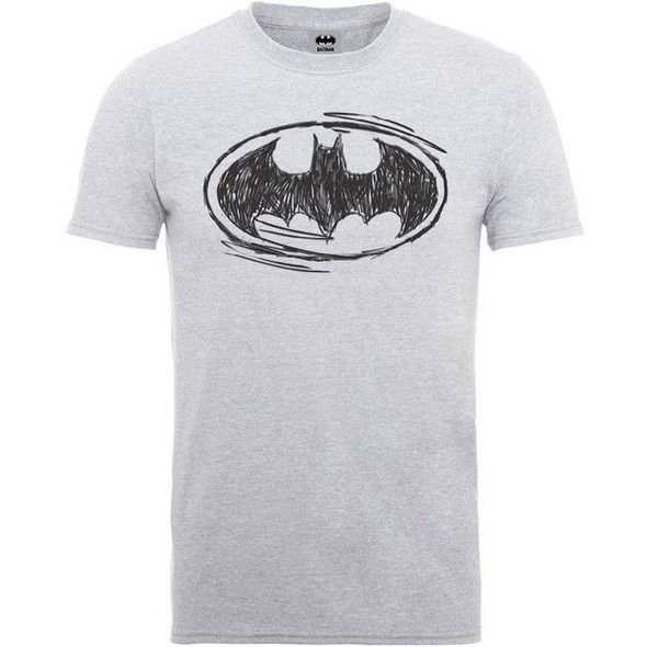 Batman Sketch Logo T-Shirt