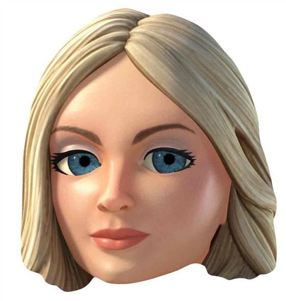 Lady Penelope Thunderbirds Are Go Single Card Mask
