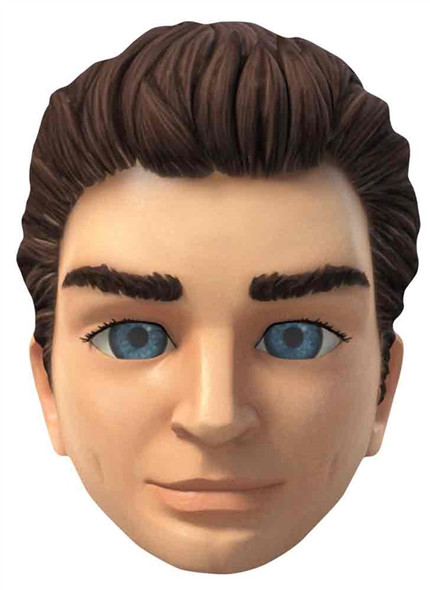 Scott Tracy Thunderbirds Are Go Single Card Mask