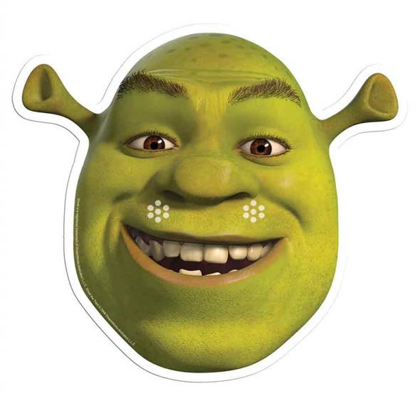 Shrek Single Card Mask