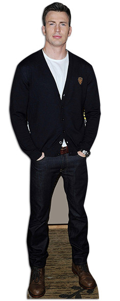 Chris Evans Lifesize Cardboard Cutout