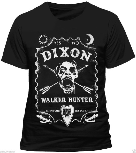The Walking Dead Dixon Walker Hunter Official Unisex T-Shirt