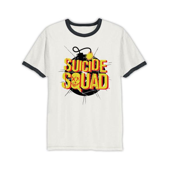Suicide Squad Exploding Bomb DC Comics Official Unisex T-Shirt