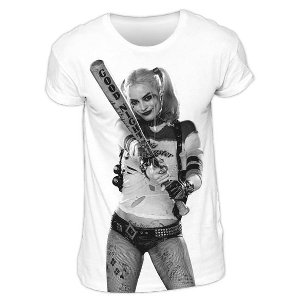 Suicide Squad Harley Quinn Sublimation DC Comics Official Unisex T-Shirt