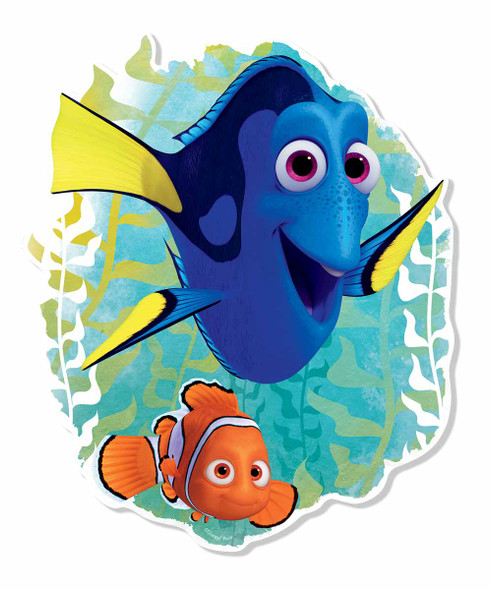 Finding Dory with Nemo Pop Out Cardboard Wall Art