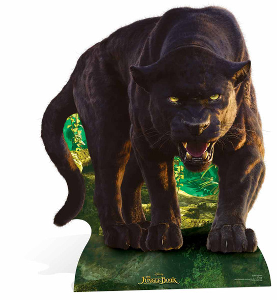 Bagheera from Disney's The Jungle Book Lifesize Cardboard Cutout
