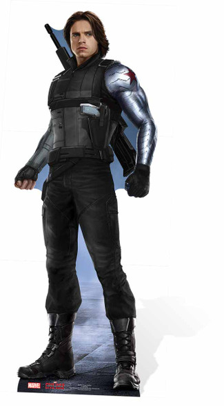 The Winter Soldier Marvel Lifesize Cardboard Cutout