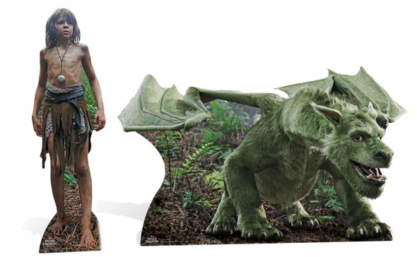 Pete and Elliott the Dragon from Pete's Dragon Official Disney Lifesize Cardboard Cutout / Standee Double Pack