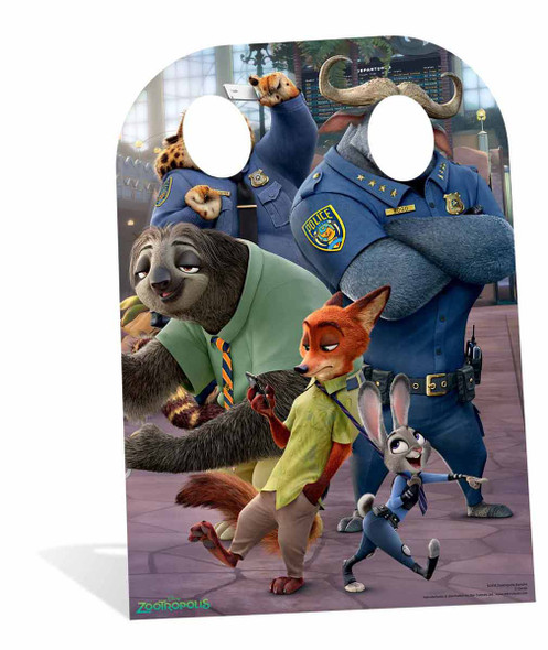 Zootropolis Child Size Cardboard Cutout Stand-in
