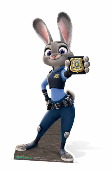 Officer Judy Hopps Zootropolis cardboard cutout