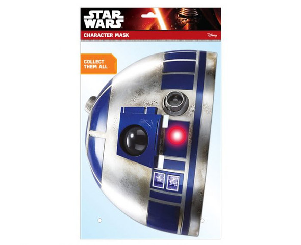 R2-D2 Official Star Wars 2D Card Party Face Mask