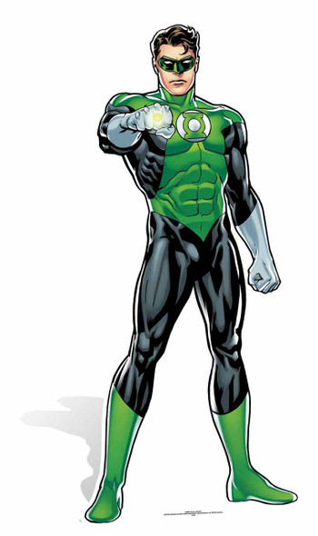 Green Lantern DC Comics Cardboard Cutout