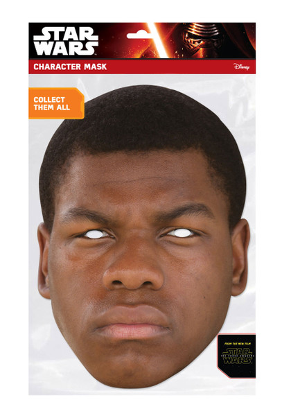 Finn Force Awakens Card Face Mask