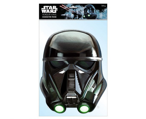 Death Trooper Rogue One Card Party Face Mask