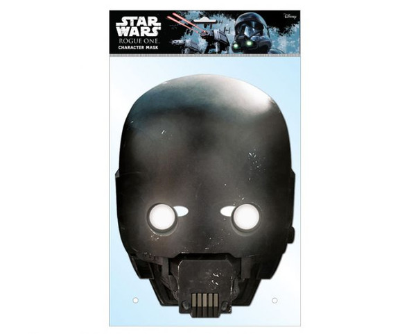 K-2SO Rogue One Card Party Face Mask