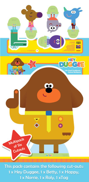 Hey Duggee and The Squirrel Club Cardboard Cutout Pack