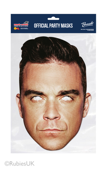 Robbie Williams Card Party Face Mask
