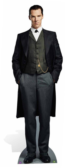 Sherlock Holmes (Benedict Cumberbatch) from Sherlock Lifesize Cardboard Cutout