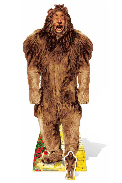 Cowardly Lion The Wizard of Oz Cardboard Cutout