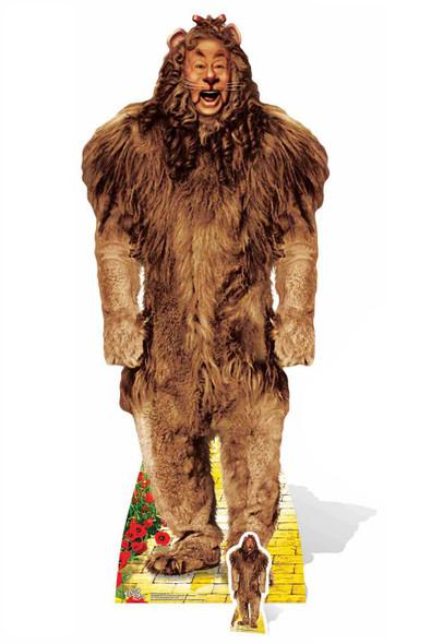 Cowardly Lion The Wizard of Oz Cardboard Cutout