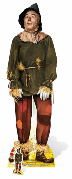 Scarecrow from  The Wizard of Oz Cardboard Standup