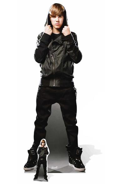 Justin Bieber My World Cardboard Cutout
