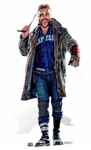 Captain Boomerang Suicide Squad Lifesize Cardboard Cutout