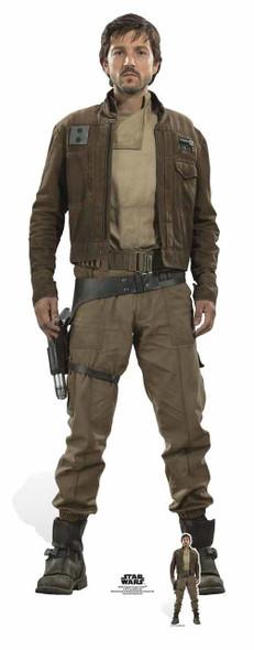 Captain Cassian Andor Rogue One: A Star Wars Story Lifesize Cardboard Cutout