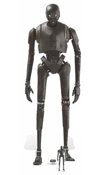 K-2SO Droid Lifesize and Mini Cardboard Cutout