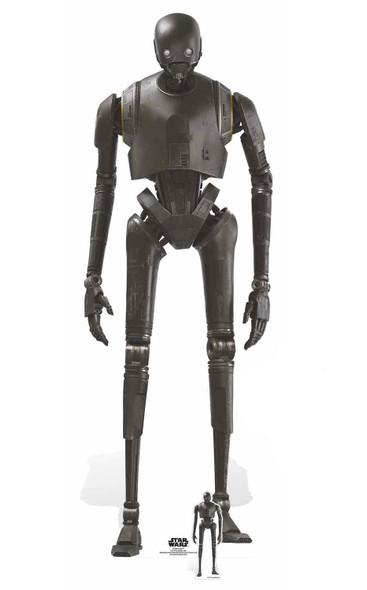 K-2SO Droid Lifesize and Mini Cardboard Cutout