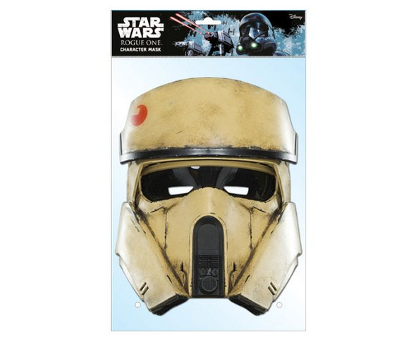 Shoretrooper Rogue One Card Face Party Mask