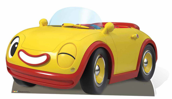 Revs Noddy's Car Cardboard Cutout