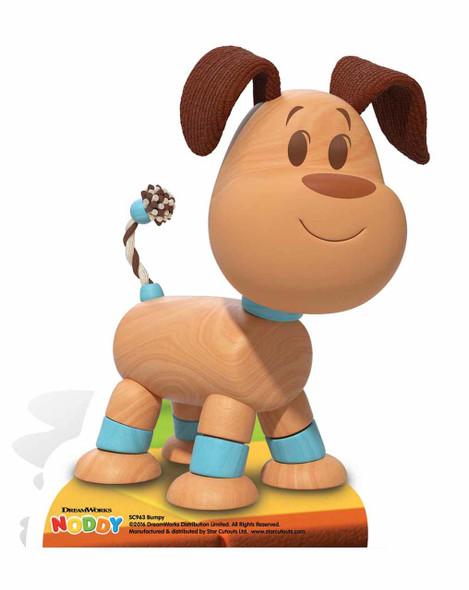 Bumpy Dog Cardboard Cutout