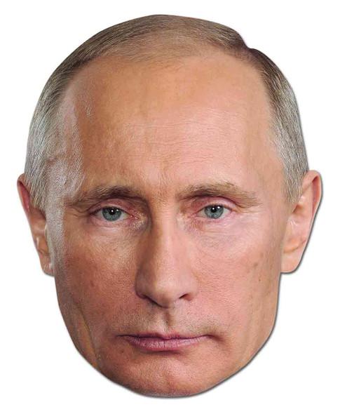 Vladimir Putin Russian President Celebrity Card Party Face Mask