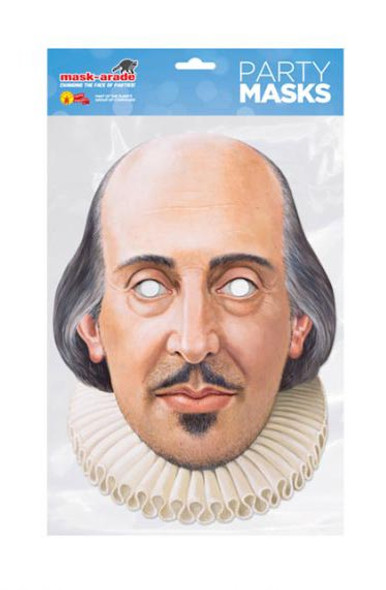 William Shakespeare Party Face Mask