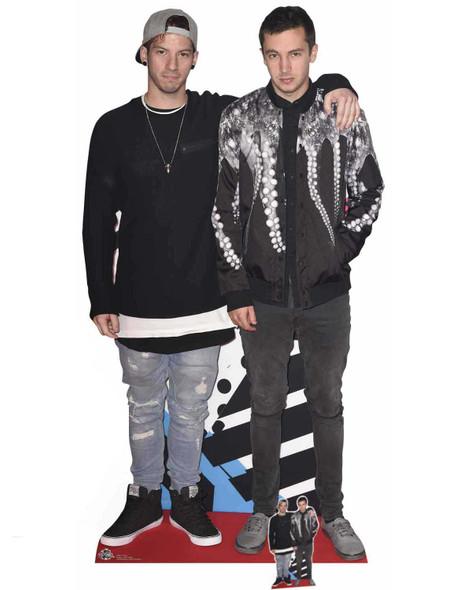 Josh Dun and Tyler Joseph Twenty One Pilots Lifesize Cardboard Cutout