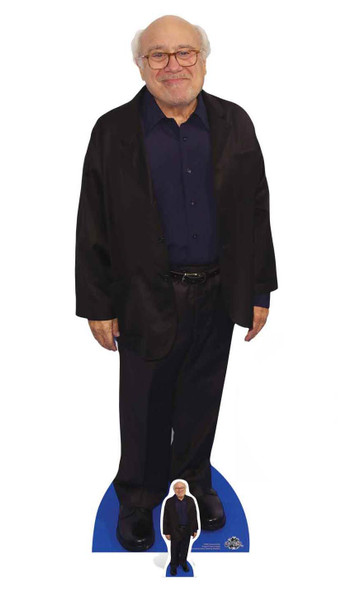 Danny DeVito Lifesize and Mini Celebrity Cardboard Cutout Standup