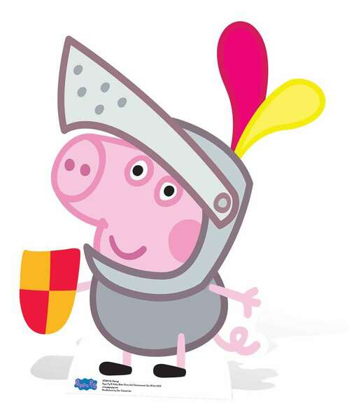 Sir George Pig Cardboard Cutout