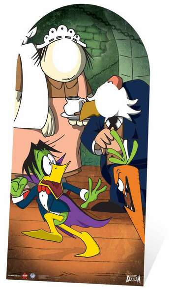 Count Duckula Stand in Cardboard Cutout