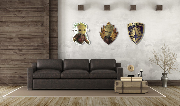Guardians Of The Galaxy Vol. 2 Wall Art Example