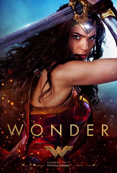Wonder Woman Original Movie Poster – Wonder Sword Style B