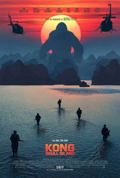 Kong: Skull Island Original Movie Poster – Advance Style