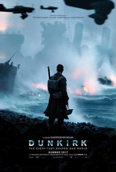 Dunkirk Original Movie Poster – Advance Style