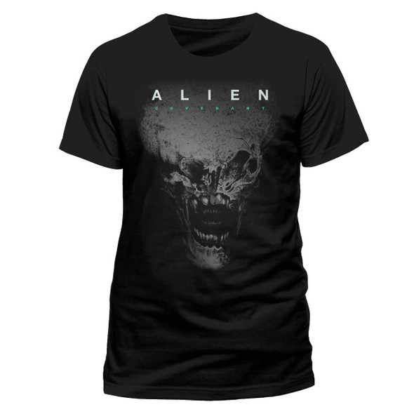 Alien: Covenant Alien Head Black Unisex T-Shirt