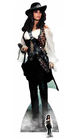 Angelica from Pirates Of The Caribbean Cardbaord Cutout
