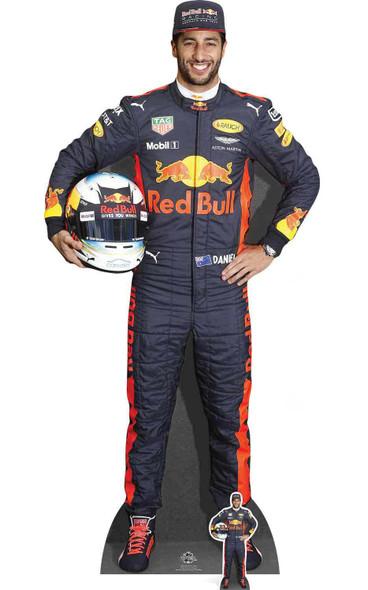 Daniel Ricciardo Formula One Racing Driver Cardboard Cutout