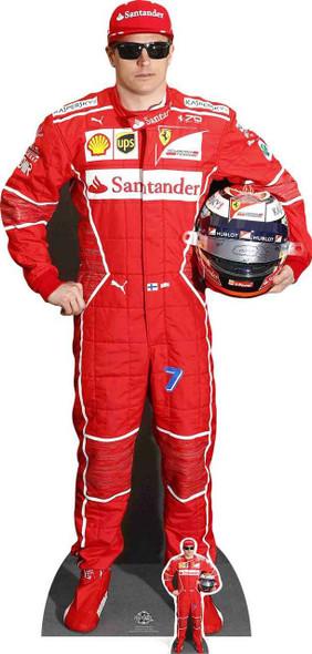 Kimi Raikkonen Formula One Racing Driver Cardboard Cutout / Standee
